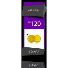 Tabungan Dinar Safraa ( 6 DIRHAM )